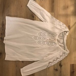 J Crew Tunic Cotton Cover Up Size XS